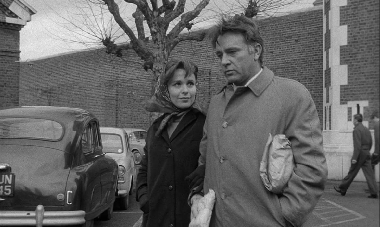 Claire Bloom e Richard Burton in «La spia che venne dal freddo» di Martin Ritt, 1964