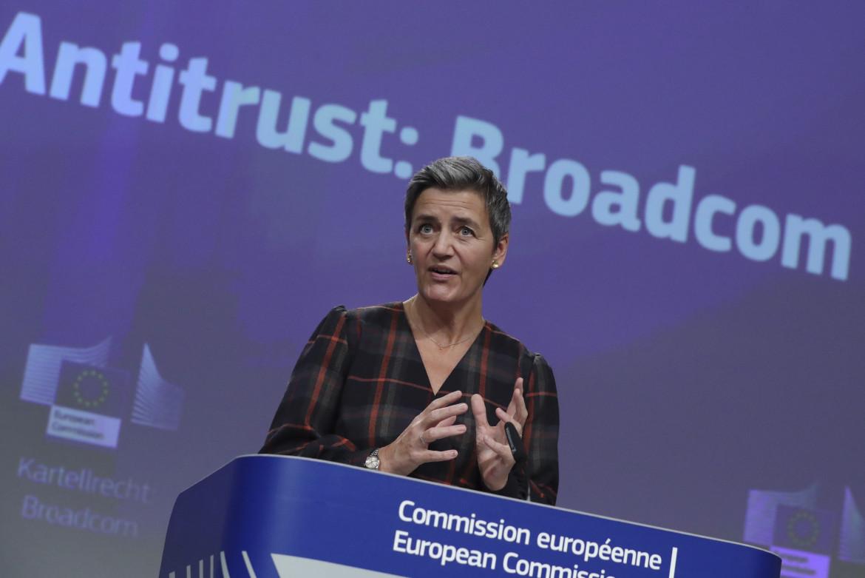 La vicepresidente della Commissione Europea Margrete Vestager