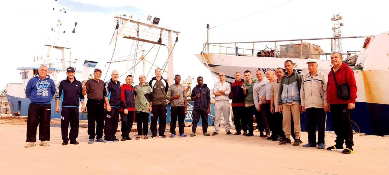 I 18 marinai di pescherecci di Mazzara del Vallo liberati in Libia