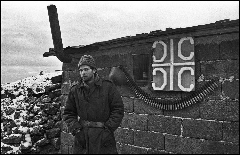 Mario Boccia, Postazione sul Monte Trebevic, 1992