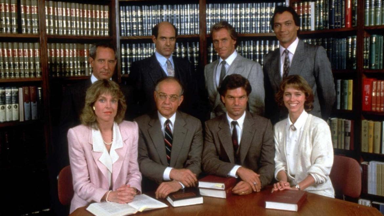 Il cast di «LA Law»