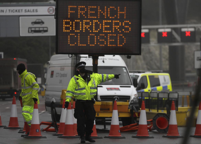 Il blocco nel terminal dei traghetti a Dover