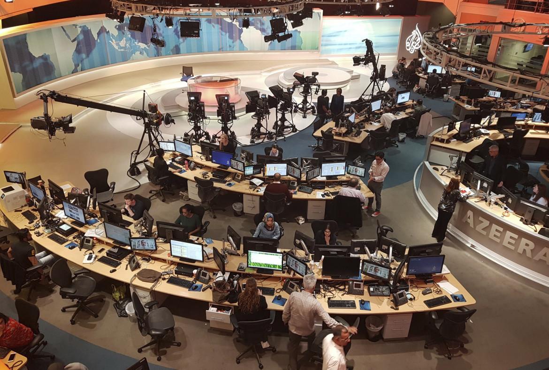 Gli studi della televisione all news Al Jazeera
