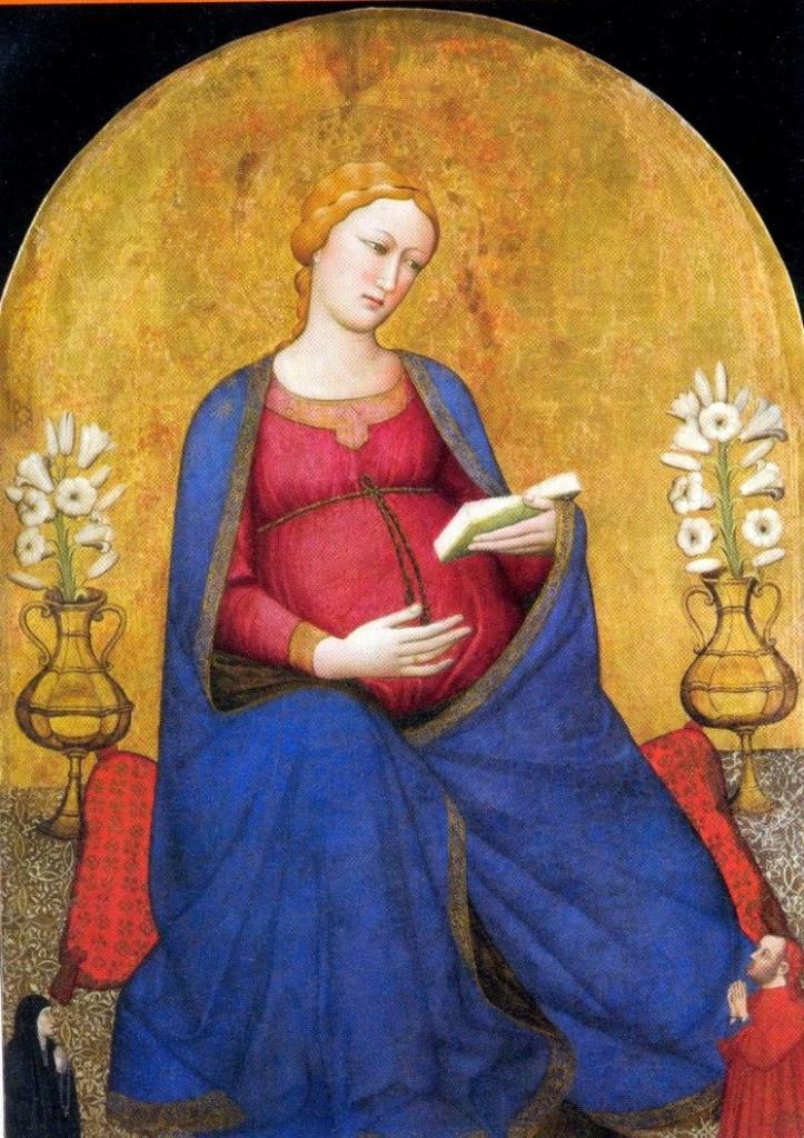 Antonio Veneziano, «Madonna del parto» (Pieve di San Lorenzo, Pontassieve)
