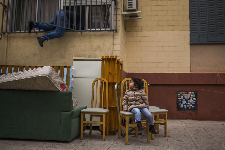 Uno sfratto a Barcellona