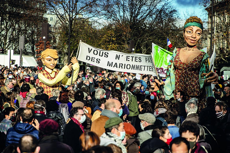 La manifestazione del 15 dicembre
