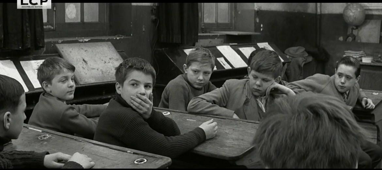 Una scena  da «Les Quatre Cents Coups», esordio nel '59  di François Truffaut,  ispirato a «Il ragazzo» di Jules Vallès