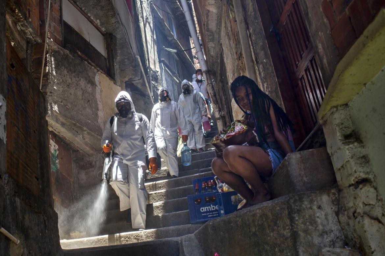 Slum in Brasile.
