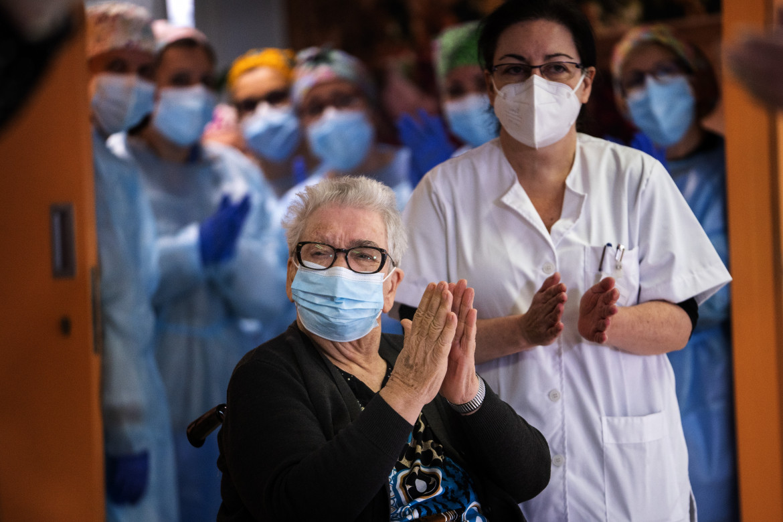 Vaccinazione all'Hospitalet de Llobregat a Barcellona