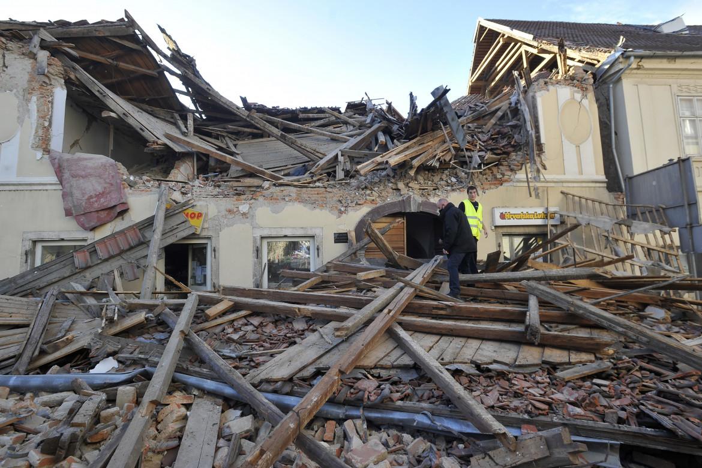 Il terremoto in Croazia
