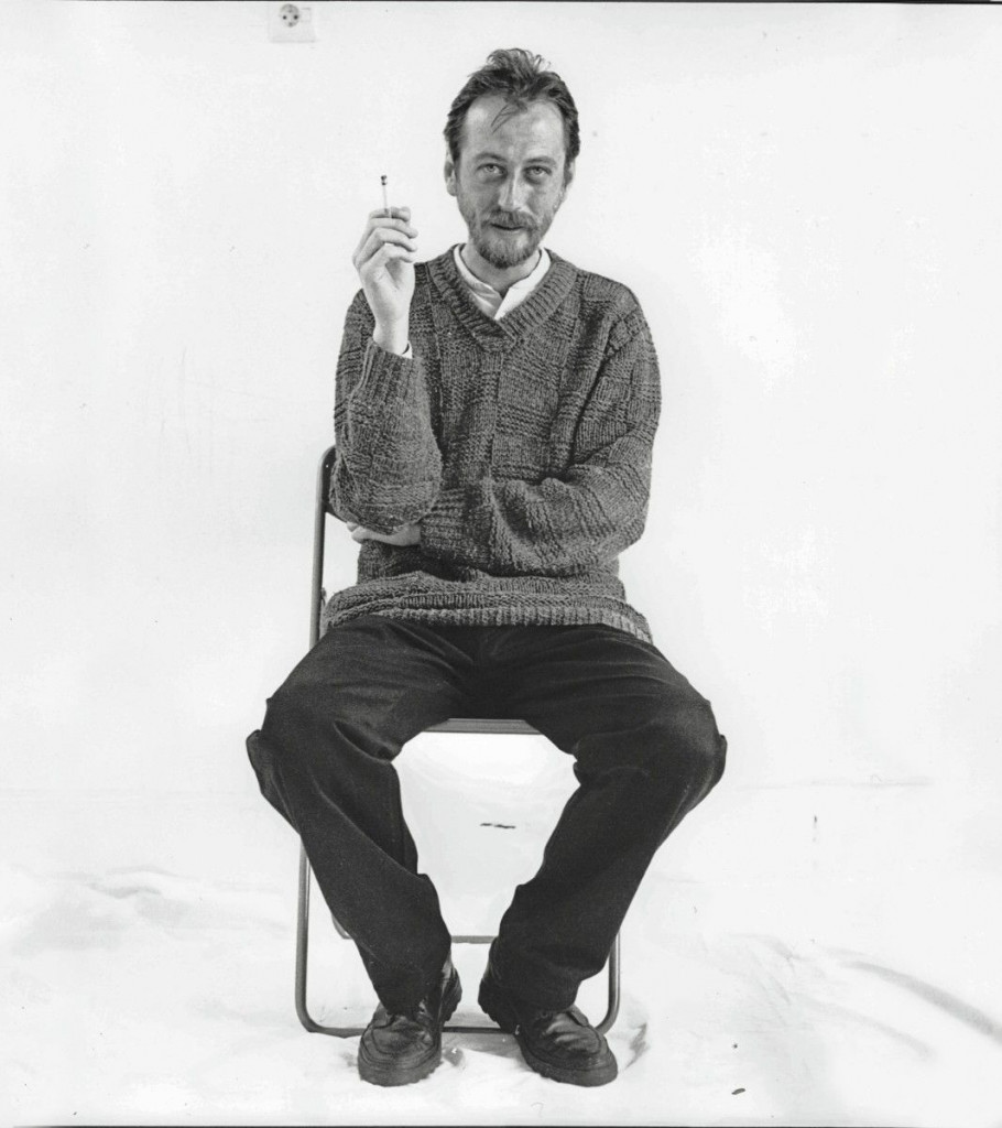László Krasznahorkai ritratto da Renate von Mangoldt per il «New Yorker», 2011