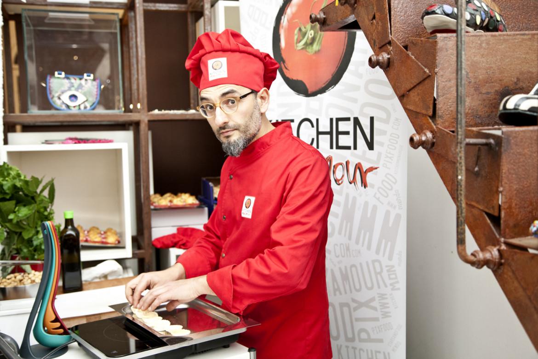 Fabio Mendolicchio, editore e chef
