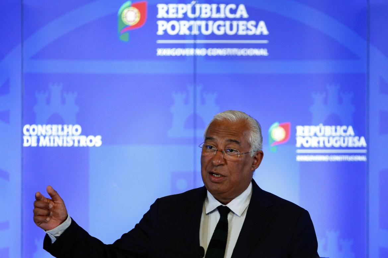 Il primo ministro portoghese, il socialista António Costa