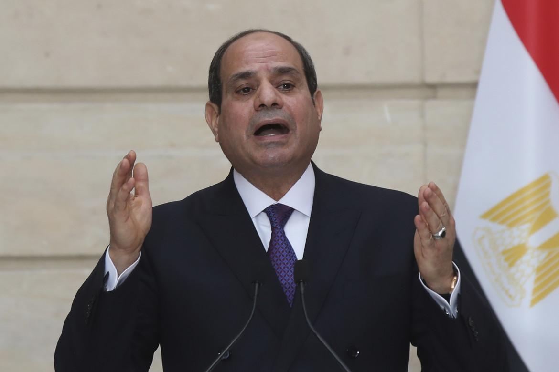 Al Sisi ieri a Parigi