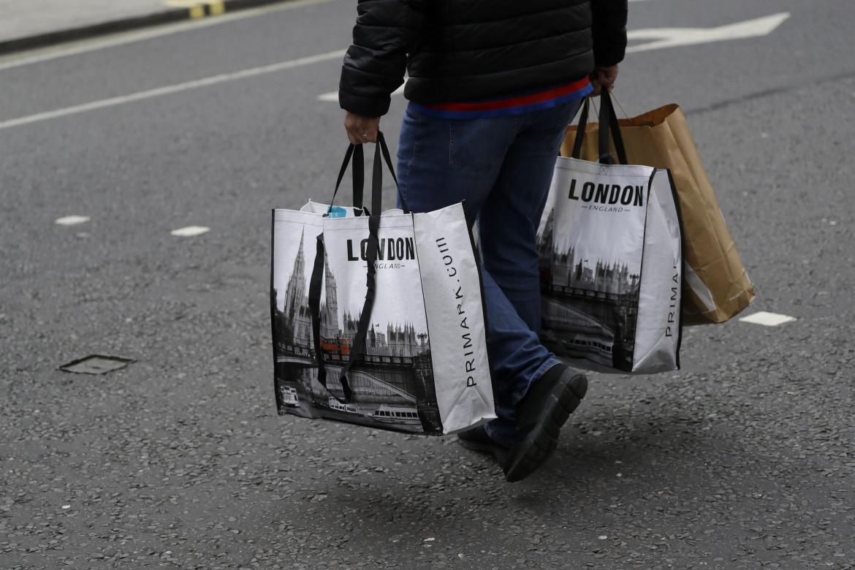 Shopping per le strade di Londra