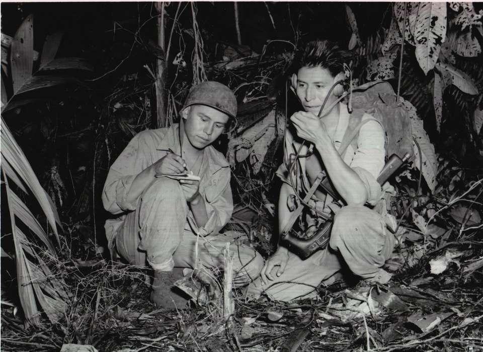 Soldati nativi americani durante la Seconda guerra mondiale