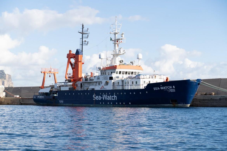 La nave Sea-Watch 4