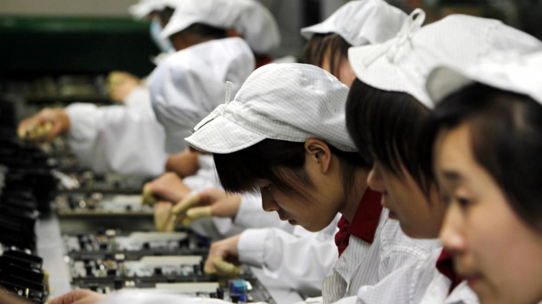 Lavoro minorile alla Foxconn, denunciato anni fa da molte ong