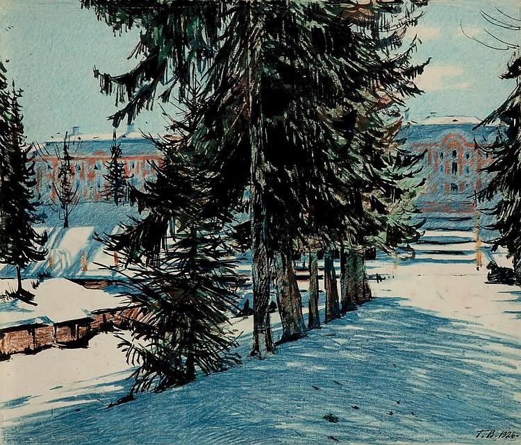Georgij S. Verejskij, «Inverno»,1926