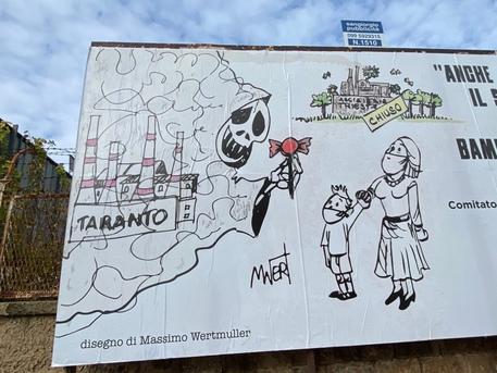 Il manifesto dei comitati di Taranto contro l'accordo sull'ex Ilva