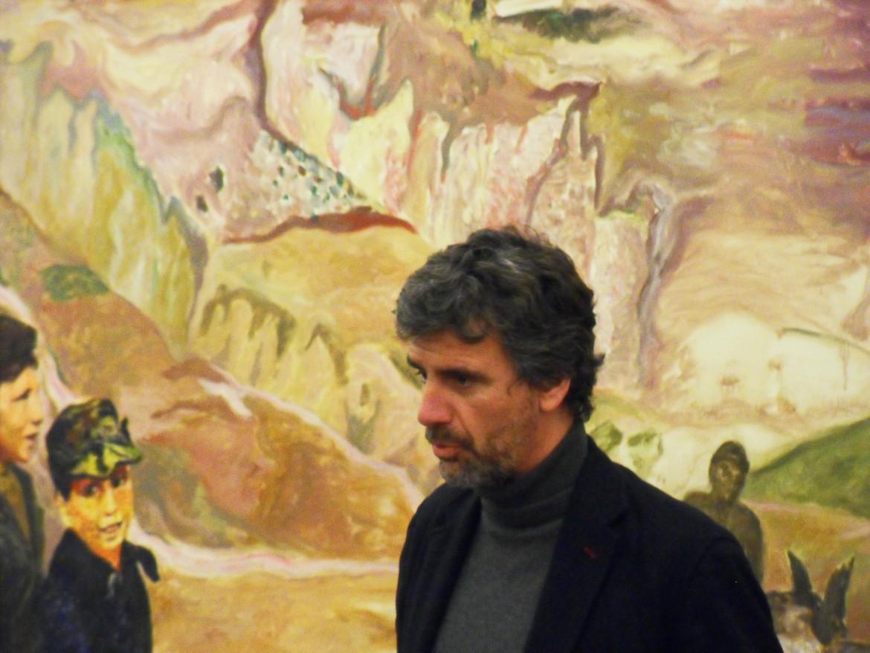 Nella foto Alberto Lucarelli