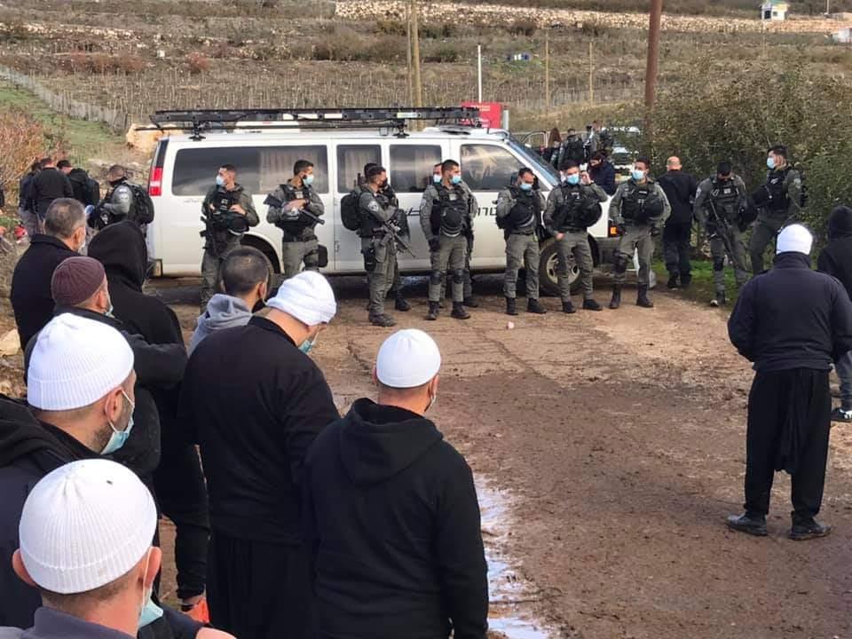 Protesta drusa sul Golan