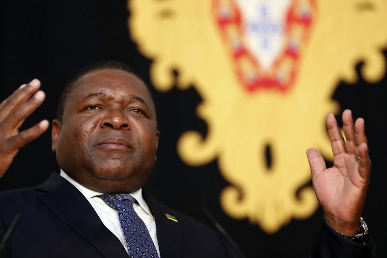 Il presidente mozambicano Felipe Nyusi