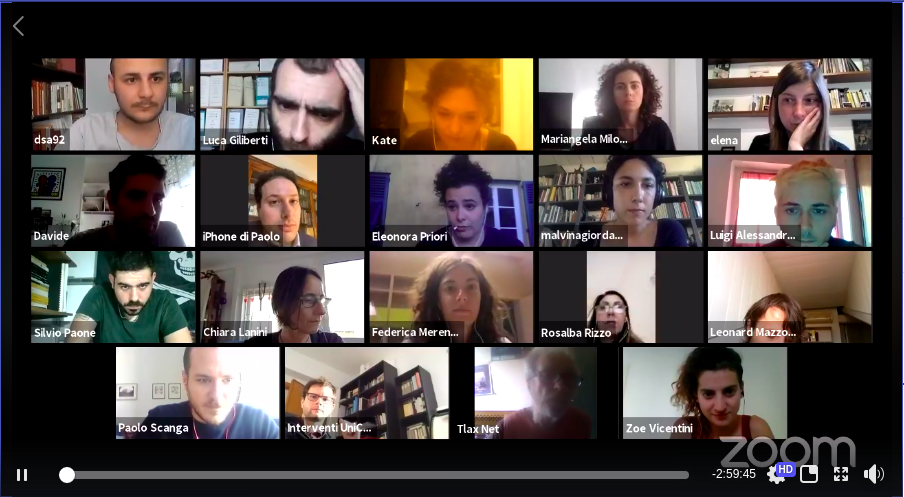 Assemblea dei ricercatori precari online