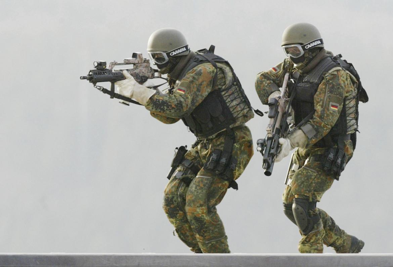 Soldati del Ksk, le forze speciali della Bundeswehr tedesca
