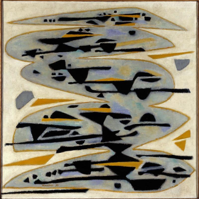 Alfred Manessier, «Morte-eau», 1954