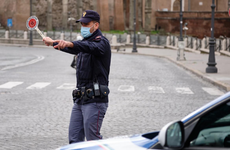 Presidio di polizia per la zona rossa, Roma