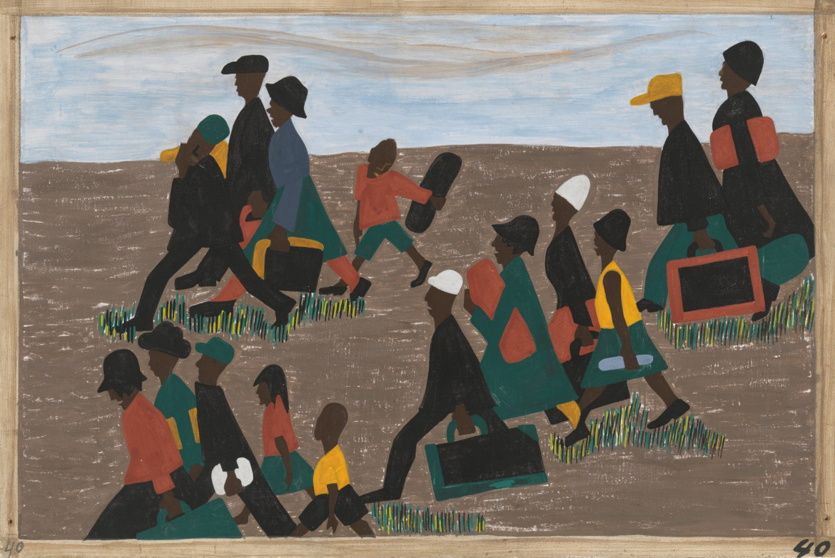 Jacob Lawrence, «The migration series»