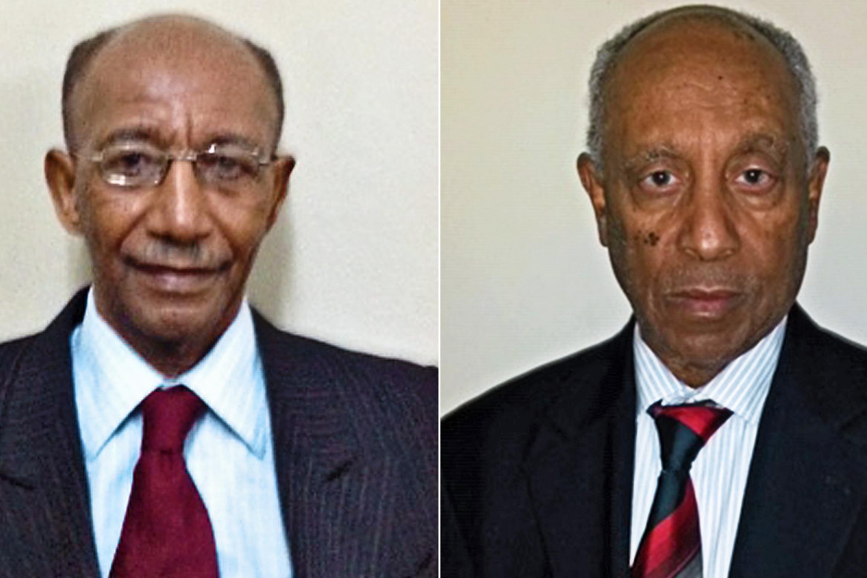 Berhanou Bayeh e Addis Tedla