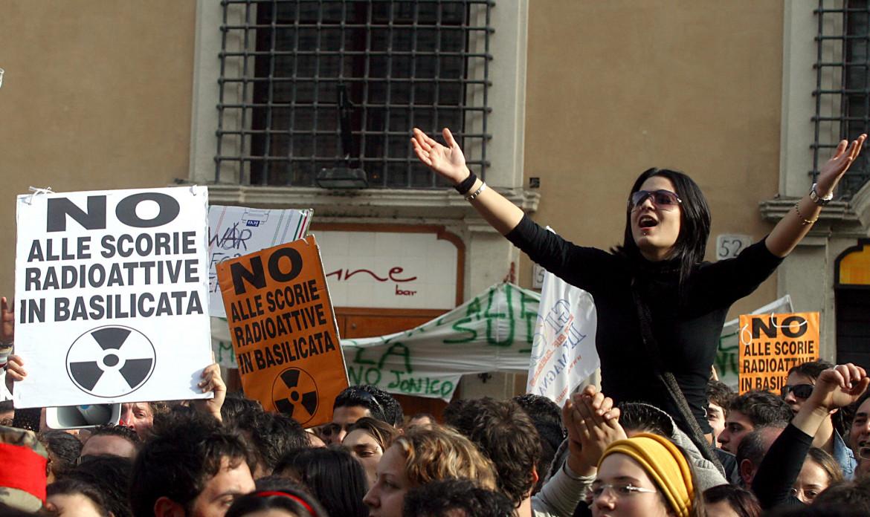 Protesta contro il nucleare