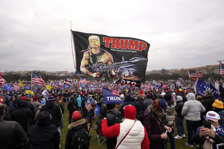 Il rally di Washington prima dell'assalto al Campidoglio