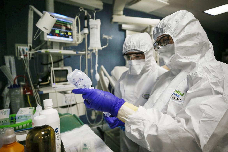 Personale sanitario di Terapia intensiva
