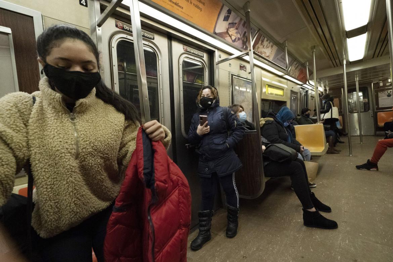 Sul treno a Brooklyn