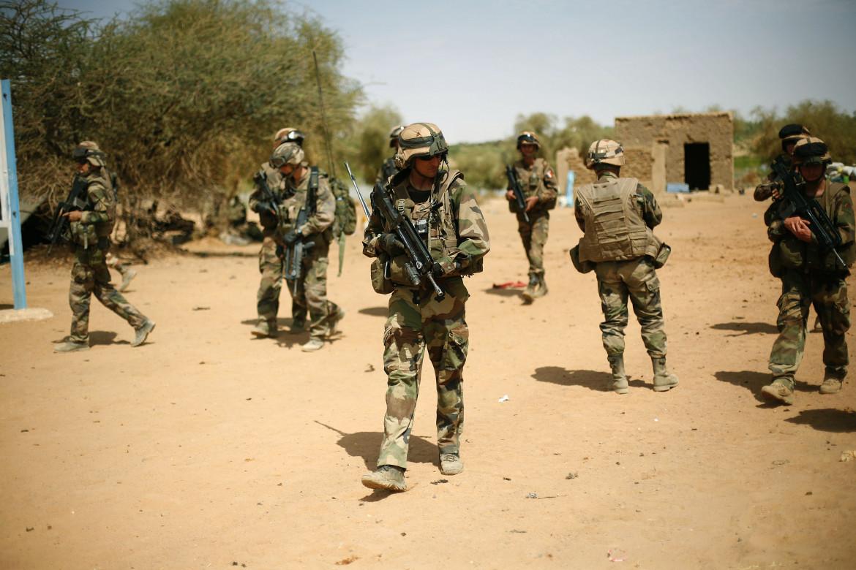 Soldati della forza militare francese Barkhane nel Mali del nord
