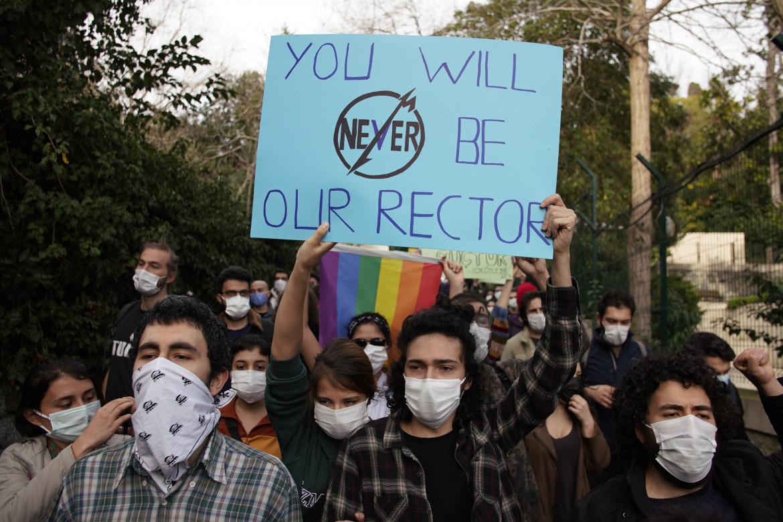 La protesta degli studenti di Istanbul