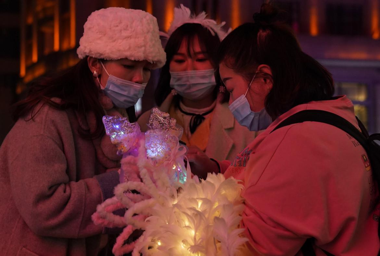 Ragazze a Wuhan