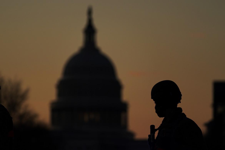 Le misure di sicurezza a Washington per l'insediamento di Biden