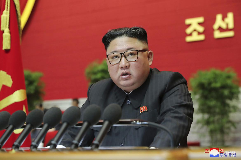 Kim Jong-un al recente congresso del partito dei lavoratori