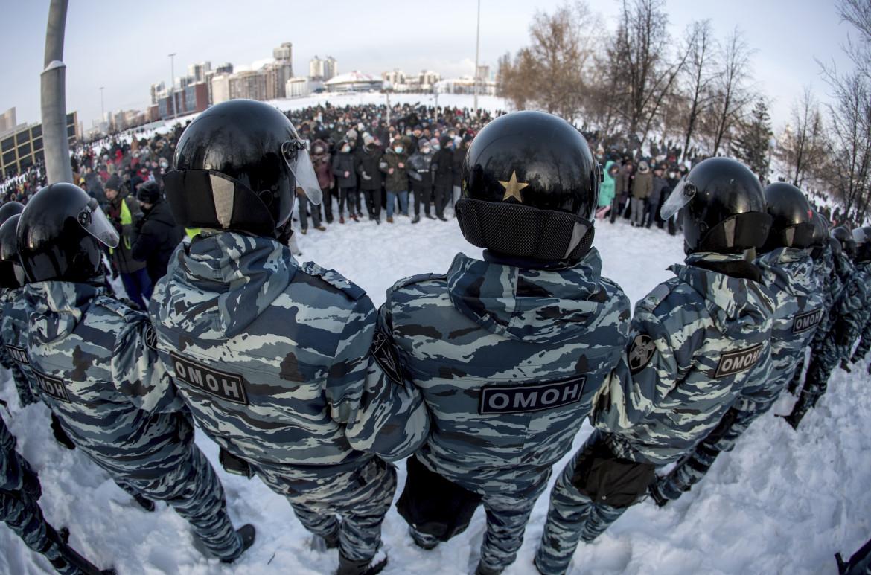 Le proteste a Ekaterinburg
