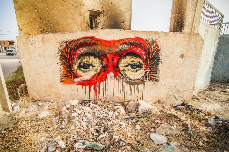 Street art per le vie di Djerba