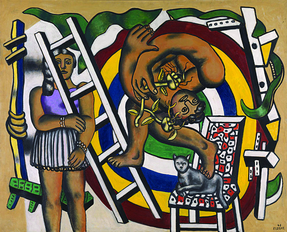 «The Acrobat and his Partner», Fernand Léger, 1948