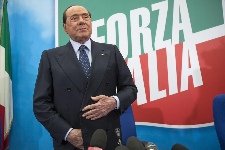 Il leader di Forza Italia