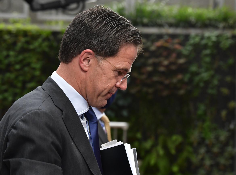Il primo ministro dimissionario olandese Mark Rutte