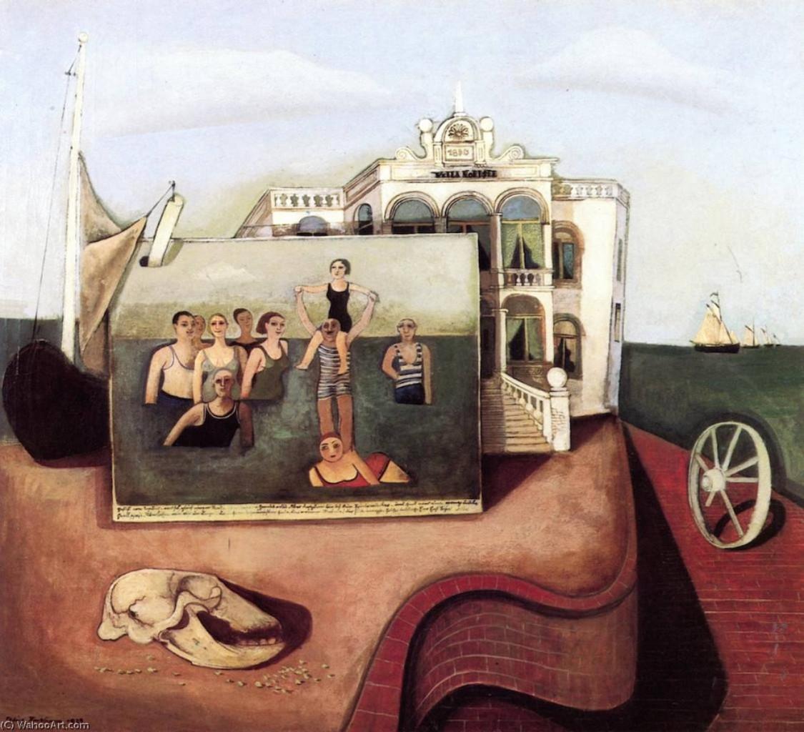 Felix Nussbaum, «Memorie di Norderney», 1929