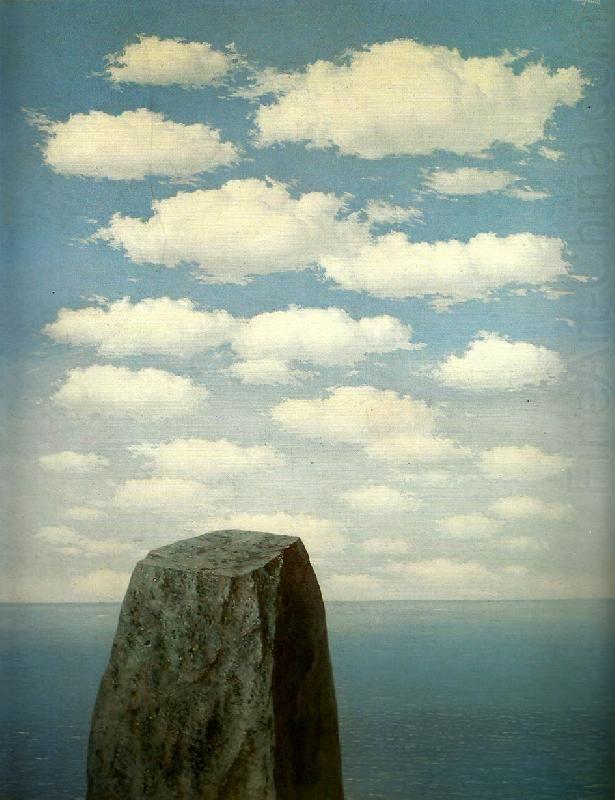 René Magritte, «Le origini del linguaggio», 1955
