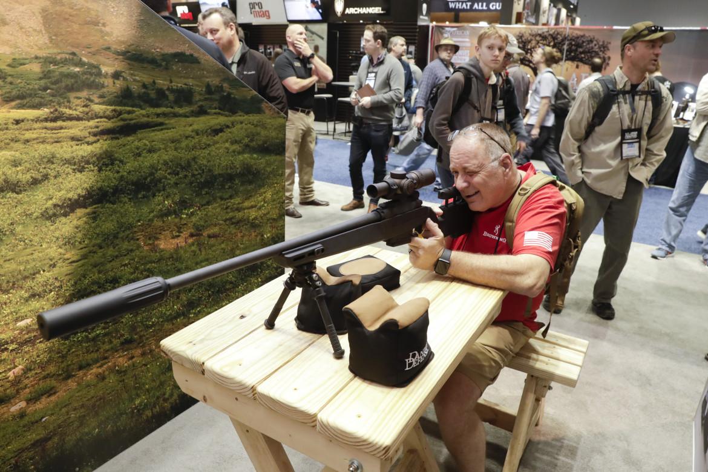 Indianapolis, al meeting annuale della National Rifle Association